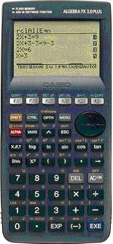 CALCULATOR  Casio Algebra Fx-2.0 Plus